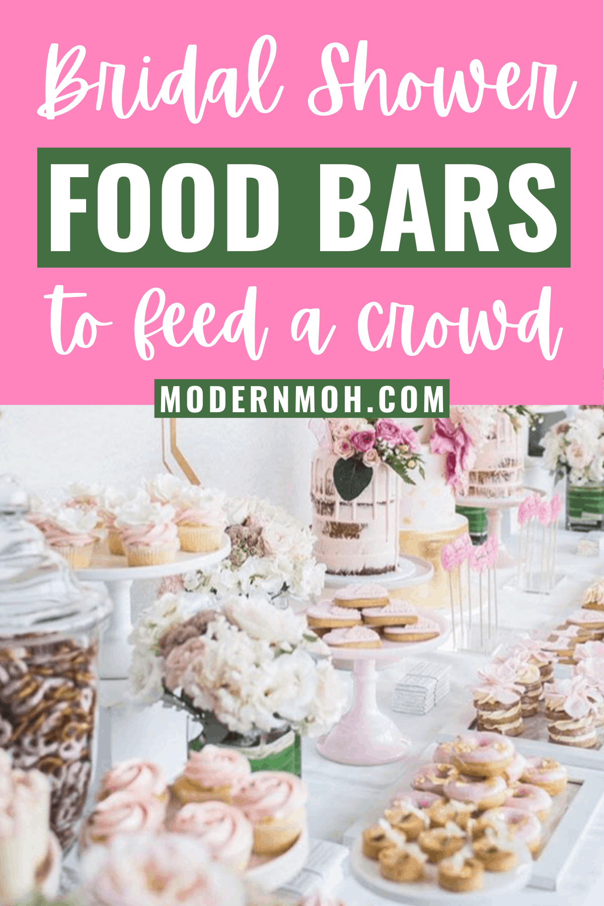 11 Delicious DIY Food Bars Perfect for Any Bridal Shower