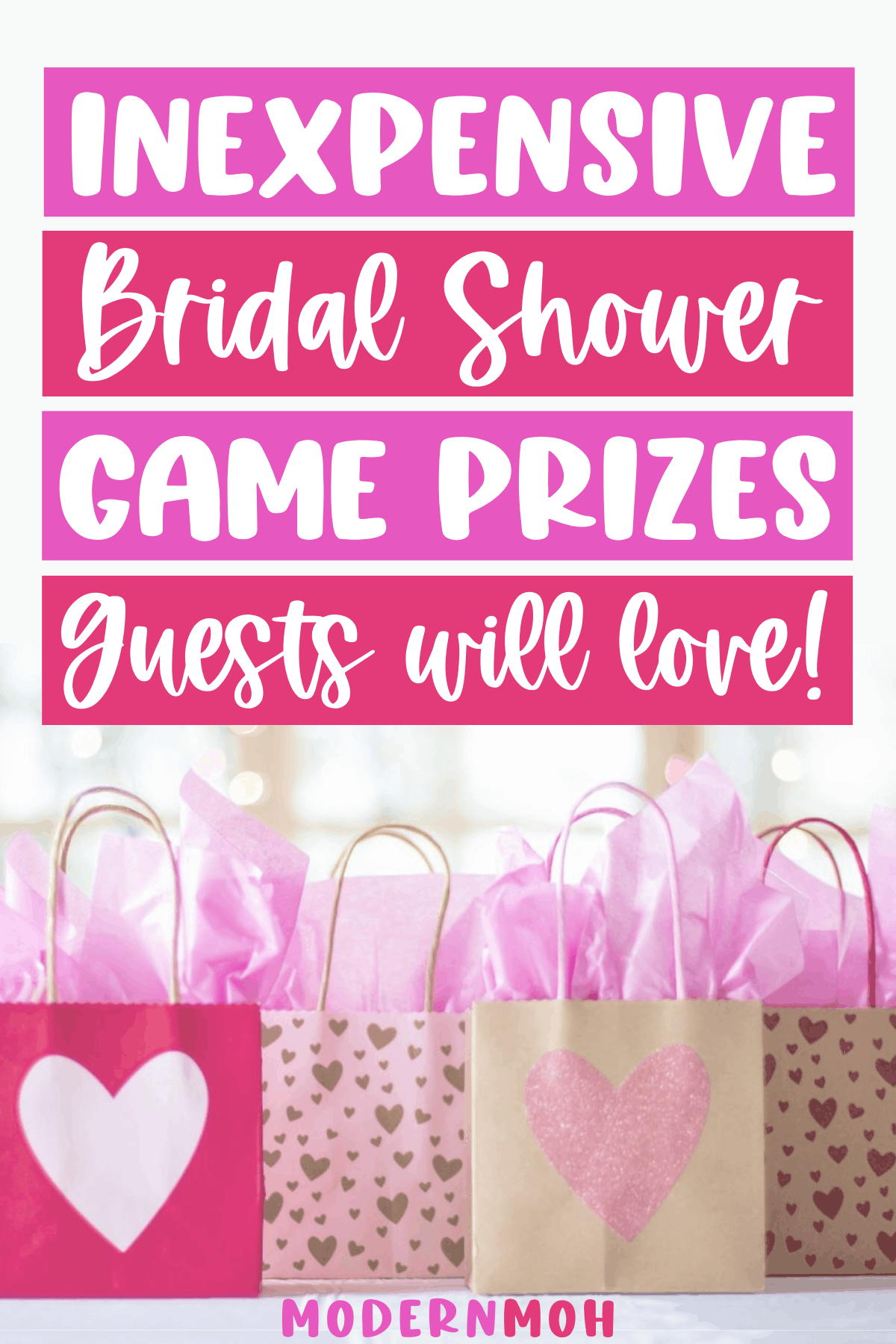 Bridal Shower Game Prizes Guests Will Actually Want