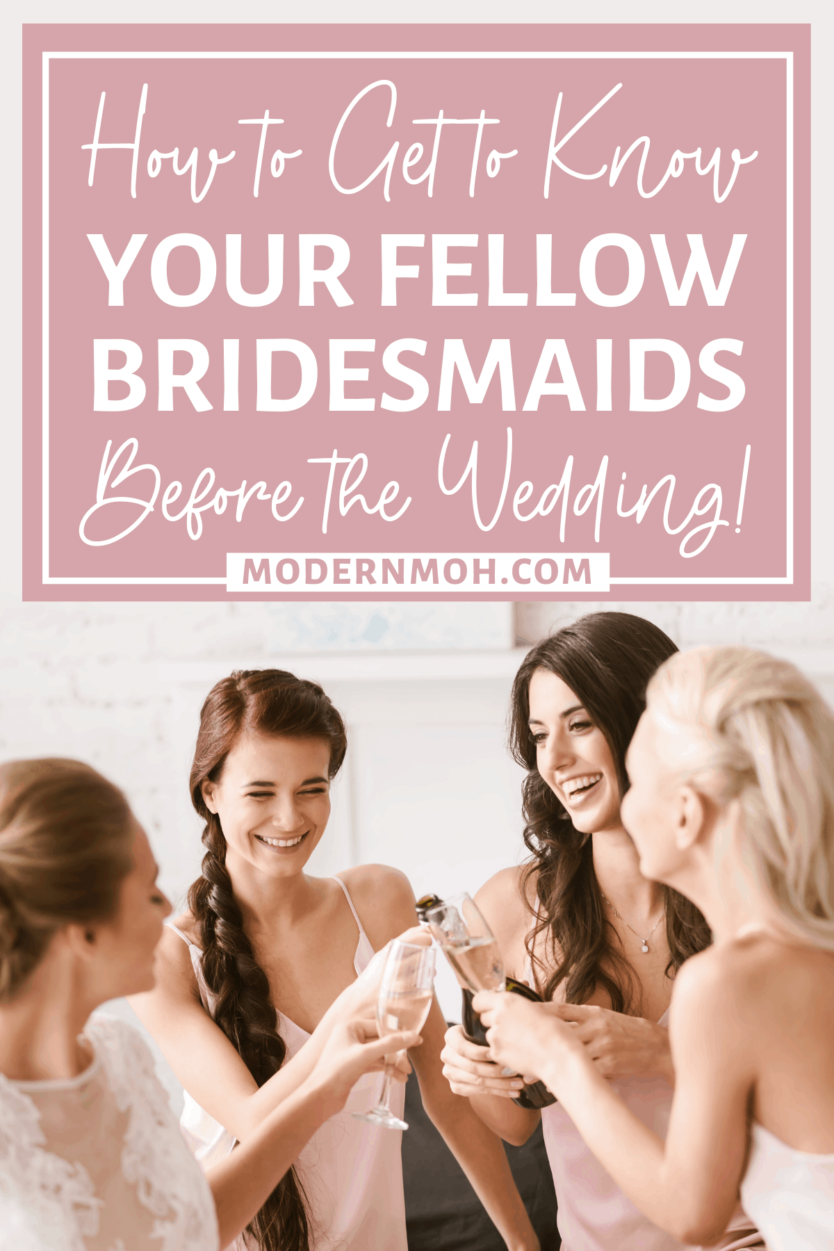 4 Ways to Get to Know Your Fellow Bridesmaids