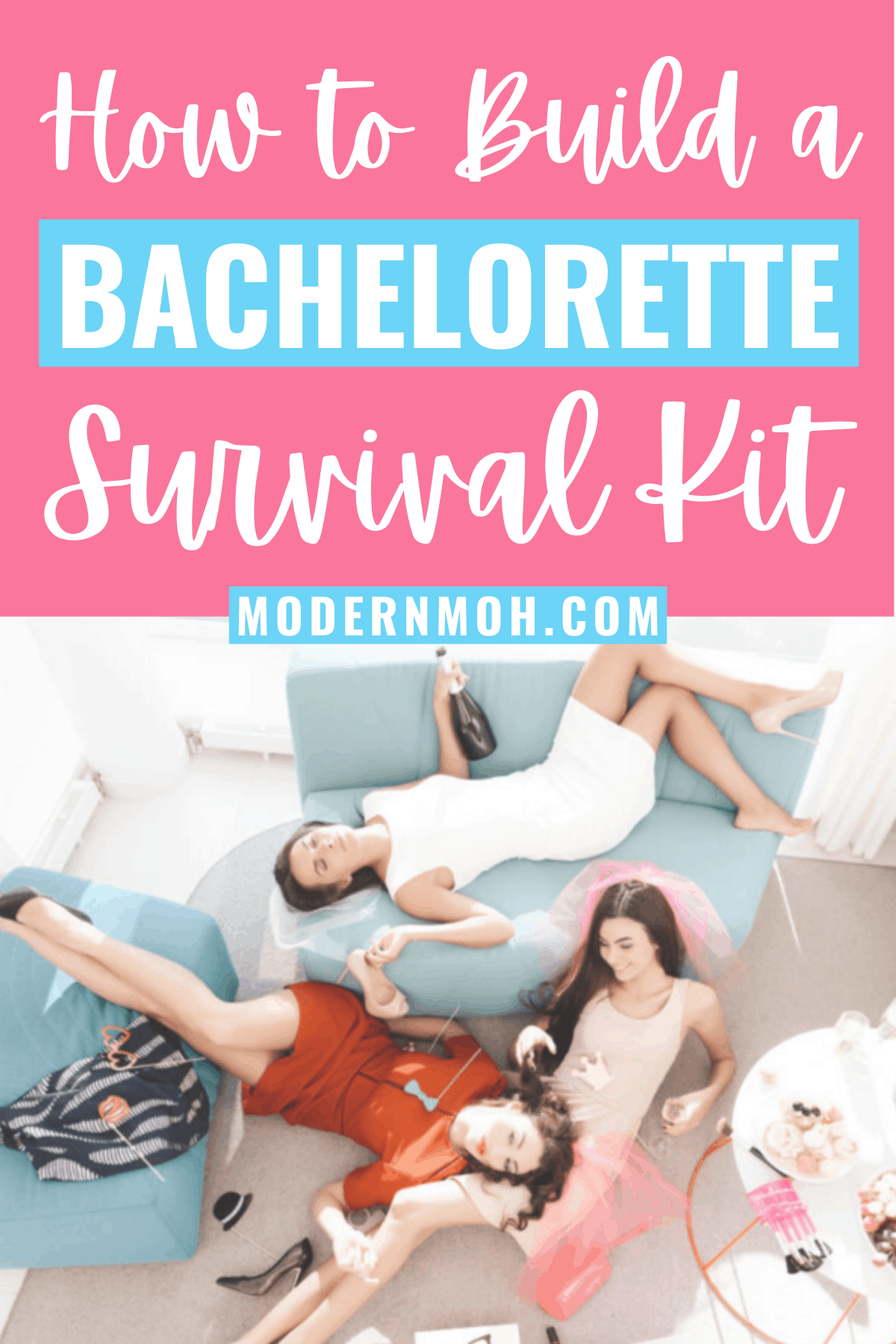 """Bachelorette Survival 101: How to Build an """"Oh Shit Kit"""""""