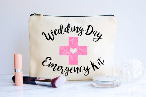 wedding day emergency bag