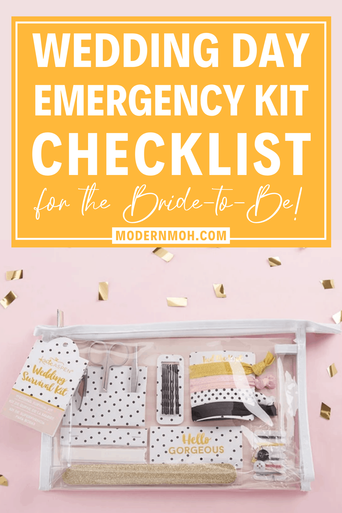 Wedding Day Emergency Kit: Because It's Better to Be Safe Than Sorry
