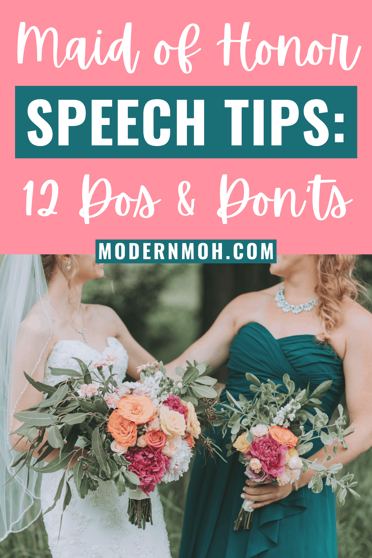 The Dos and Don'ts of Giving a Maid of Honor Speech