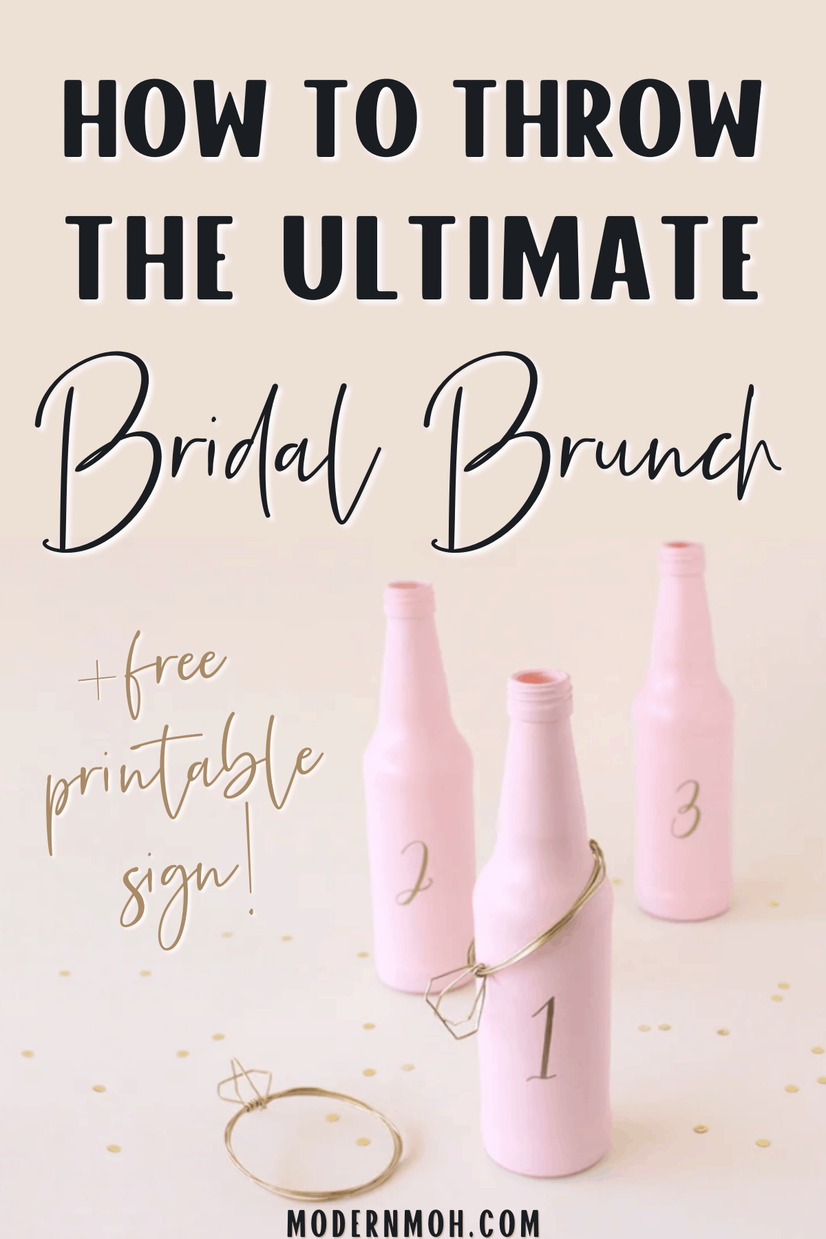 How to Host a Bridal Shower Brunch in 8 Simple Steps