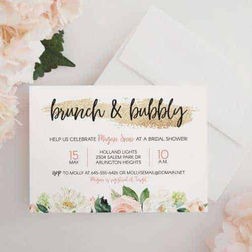 Sending Wedding Invitations Post Office: Bridal Shower Brunch: How To Host In 8 Simple Steps
