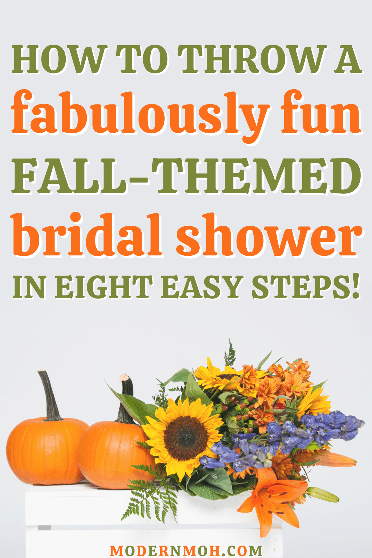 How to Throw a Fall-Themed Bridal Shower