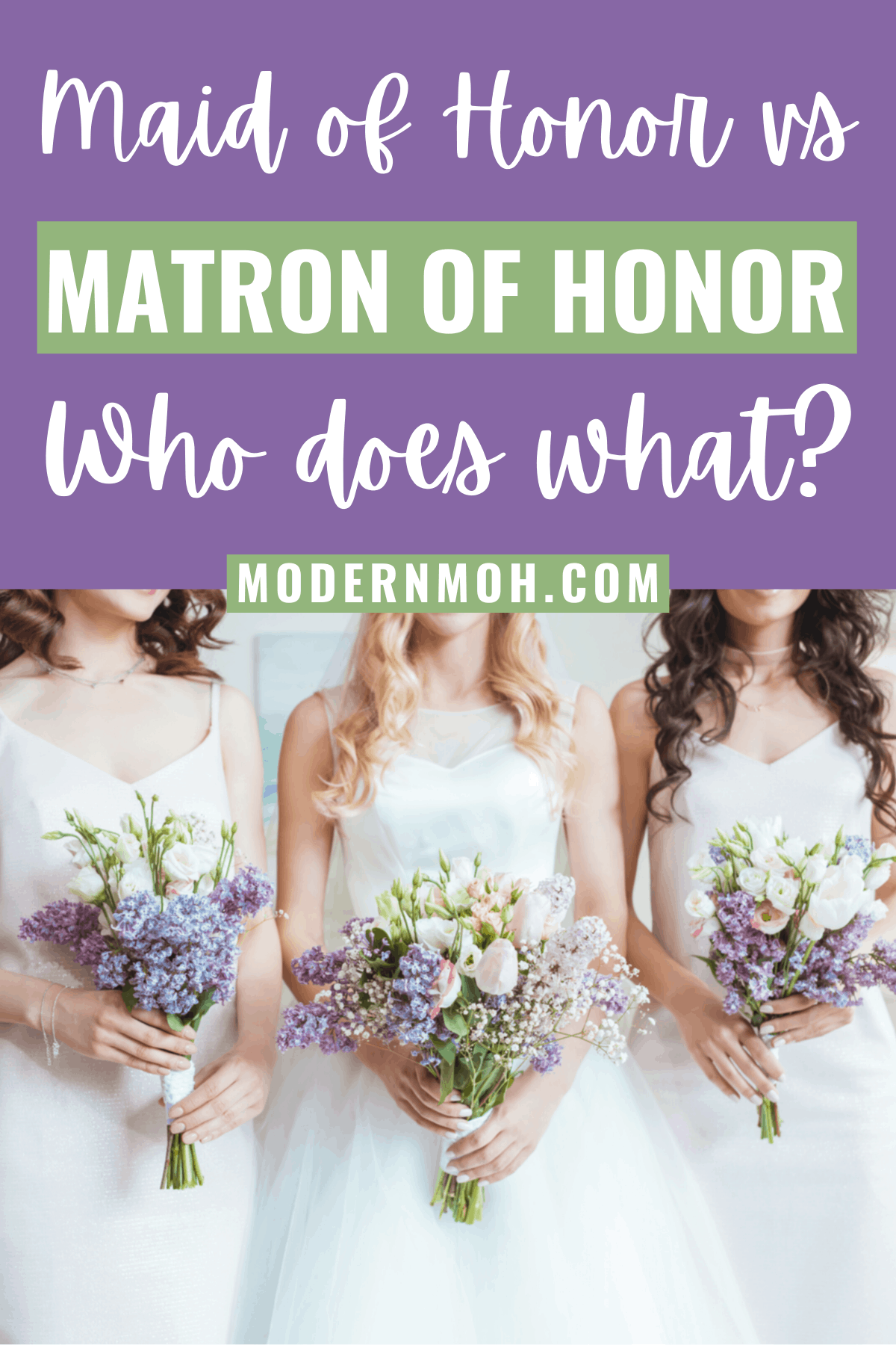 Maid of Honor vs Matron of Honor: Who Does What?