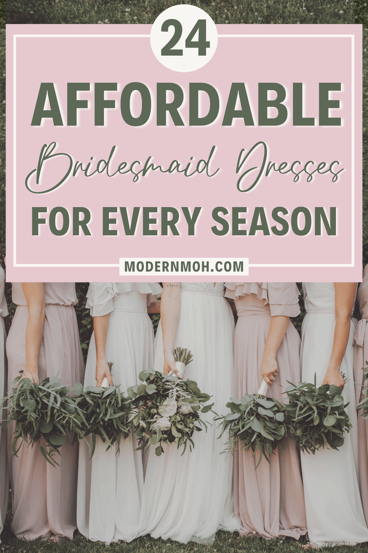 24 Affordable Bridesmaid Dresses for Every Season