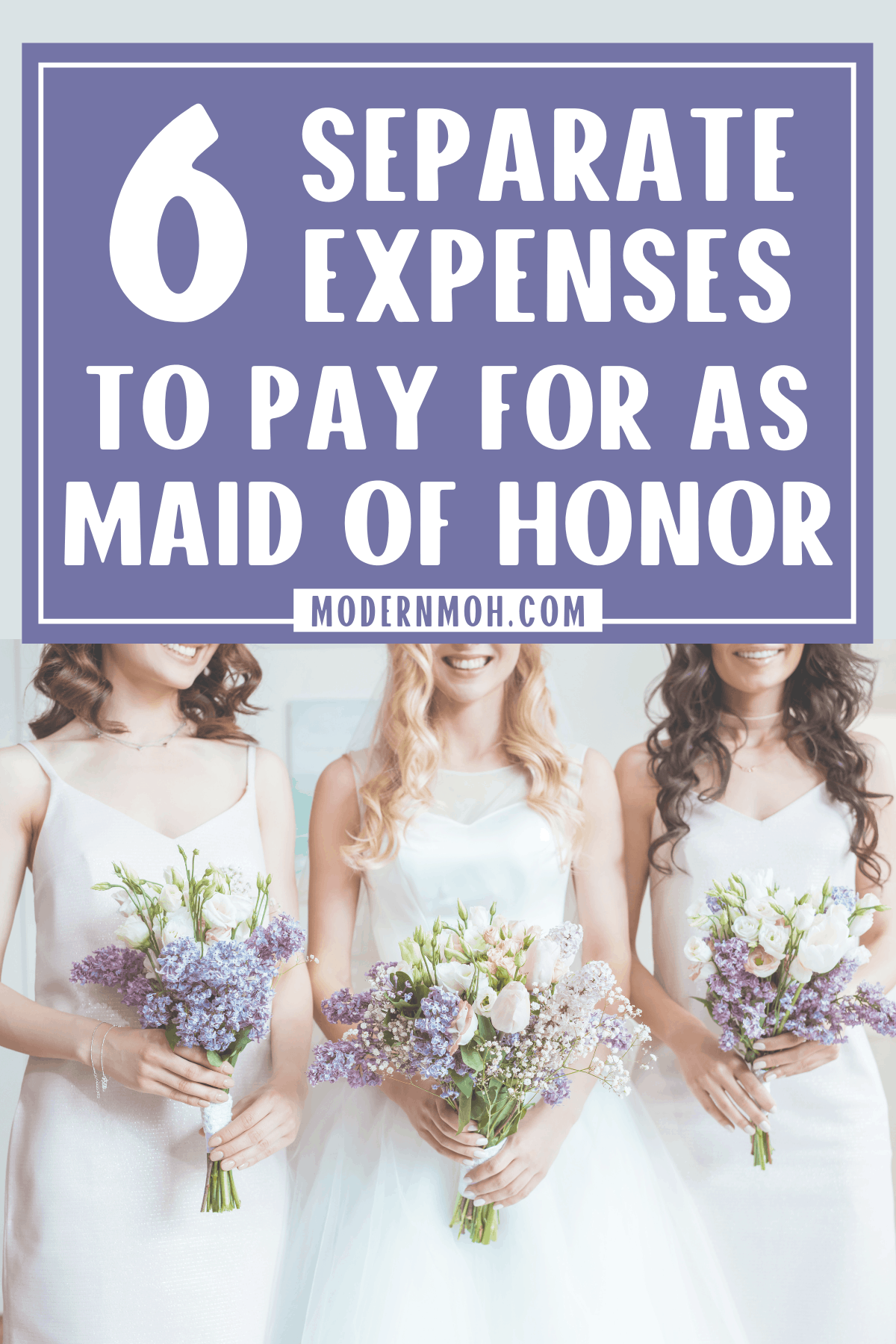 6 Expenses Maids of Honor Should Expect to Pay For