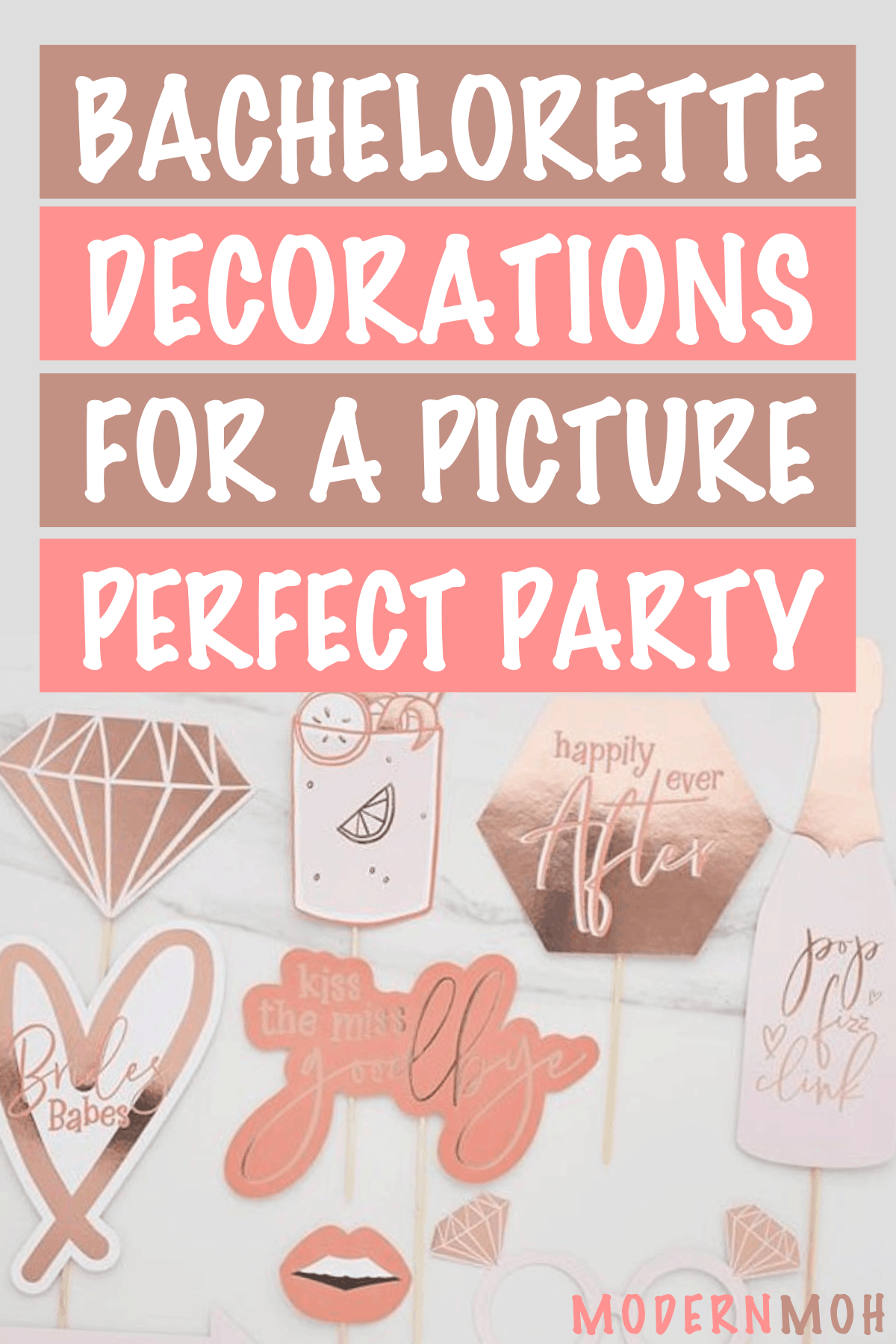 25 Bachelorette Party Decorations for a Photo-Worthy Weekend