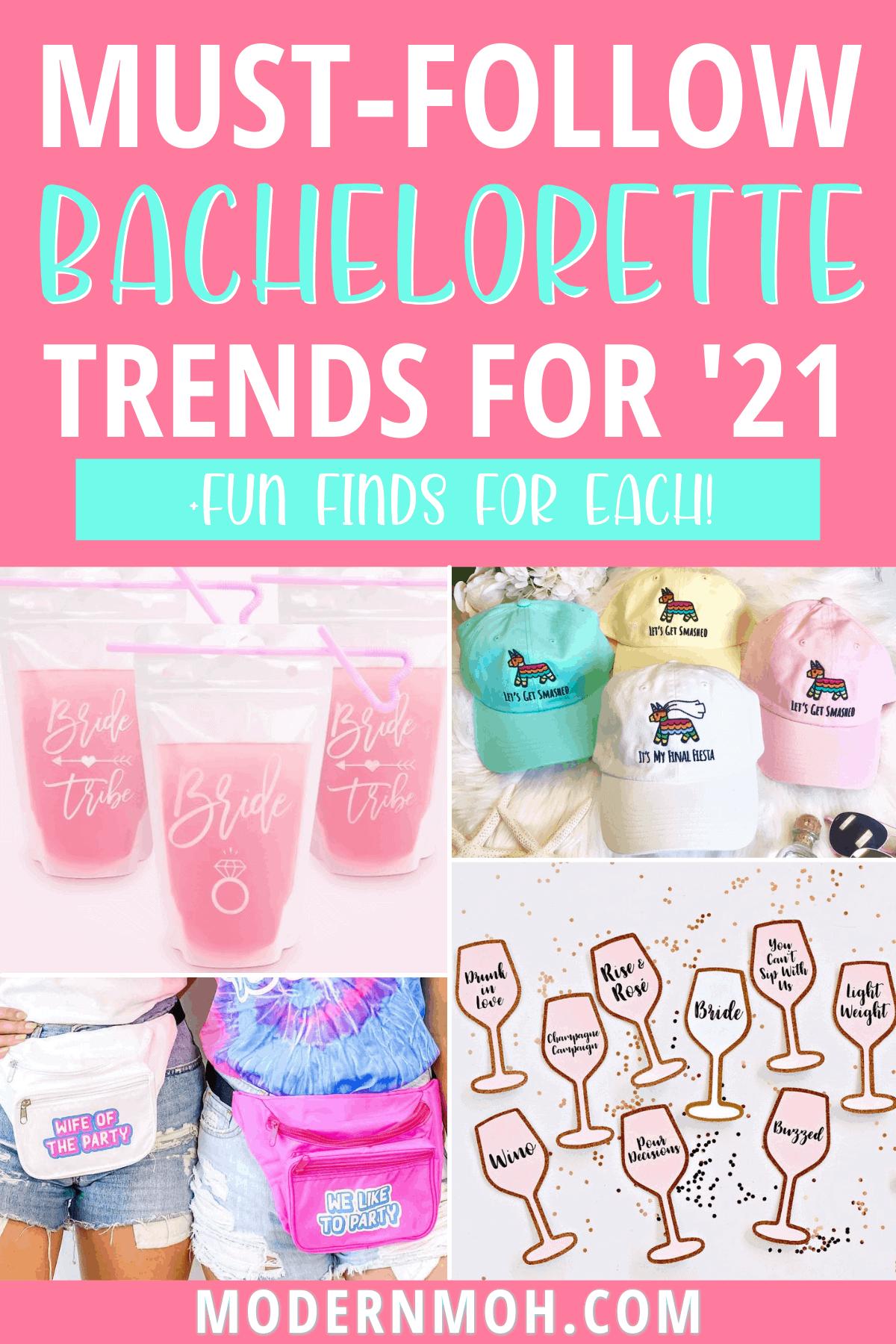 4 Fresh Bachelorette Party Trends