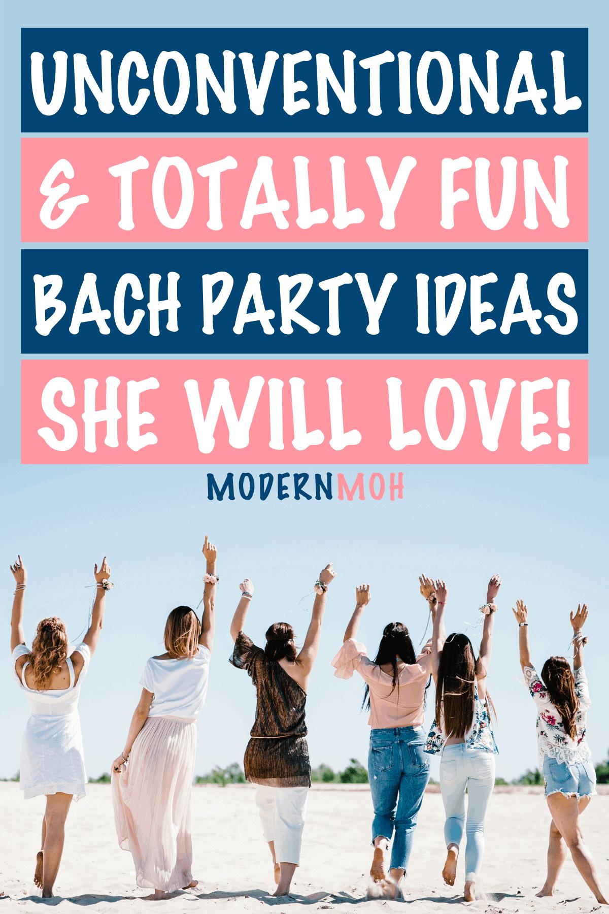 24 Bachelorette Party Ideas for the Unconventional Bride