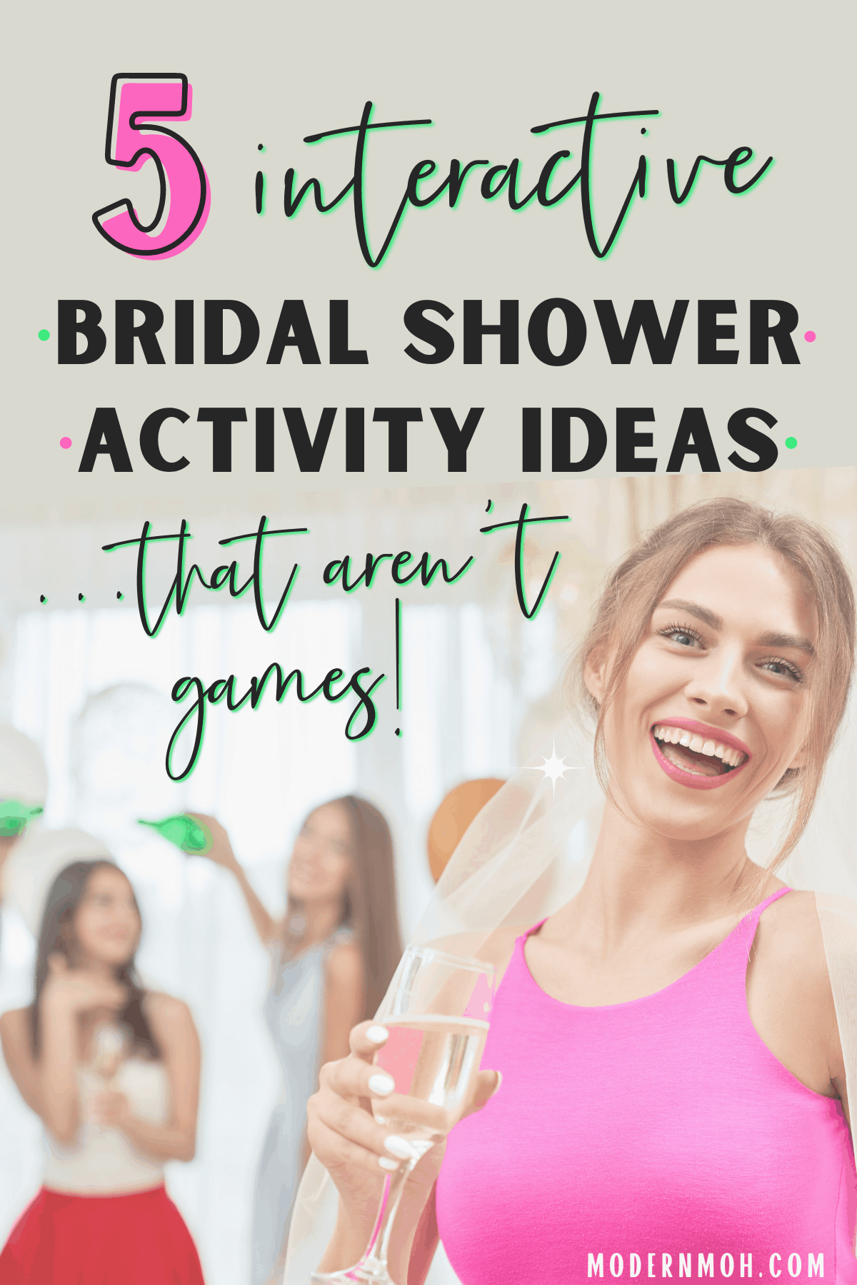 5 Fun Bridal Shower Activities That Are Not Games