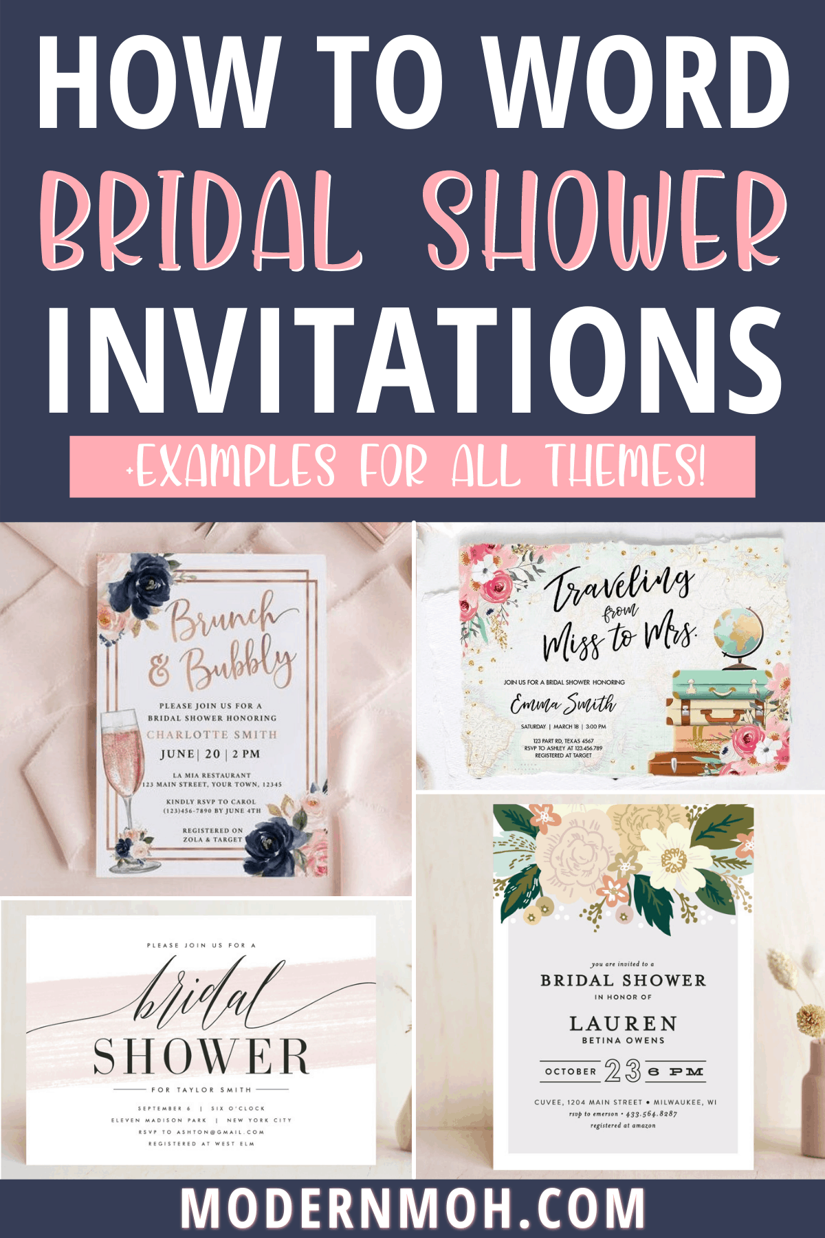 Braidal Shower Invitation Wording: Must-Have Details and Examples