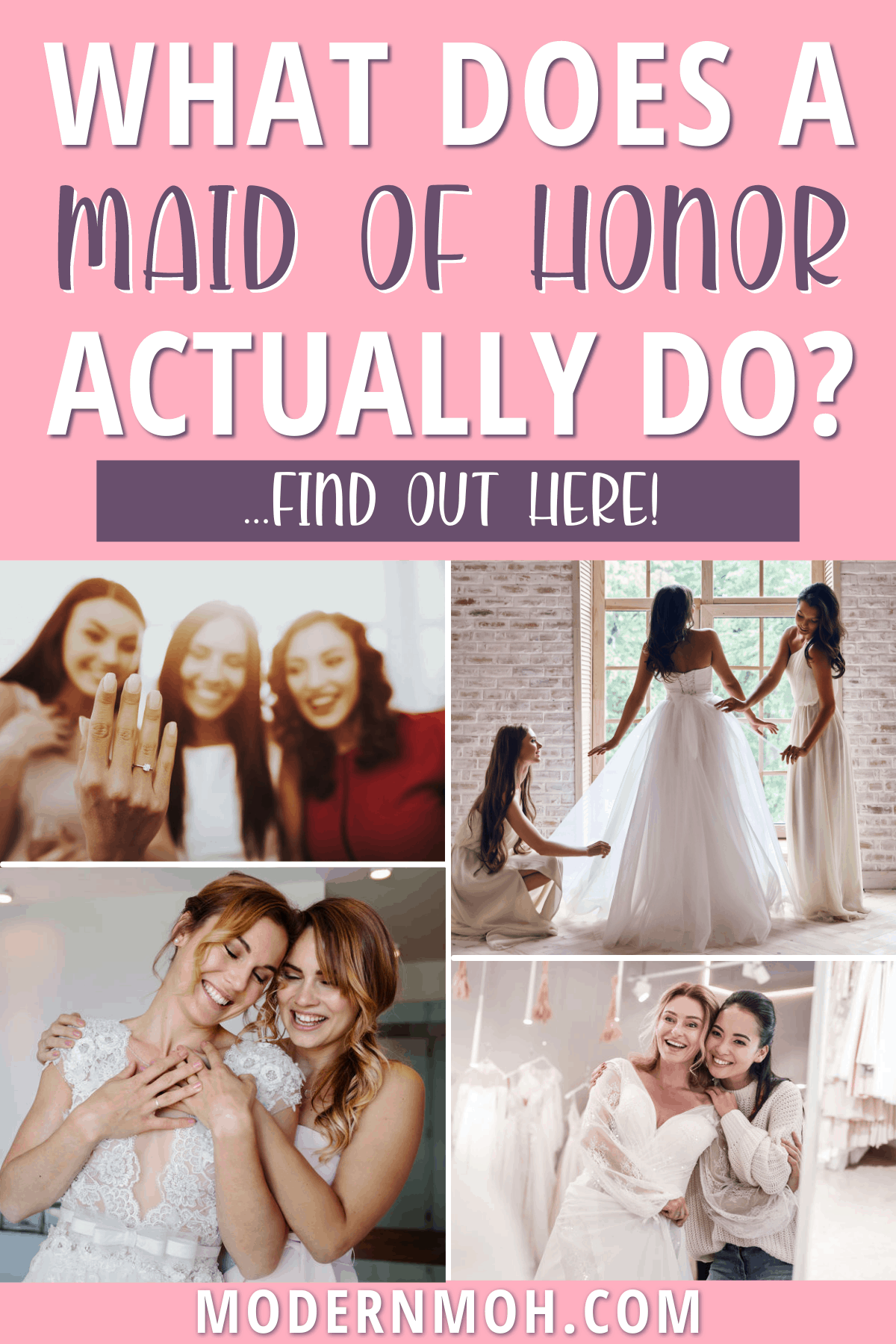Maid of Honor Duties: A Checklist of Roles and Responsibilities