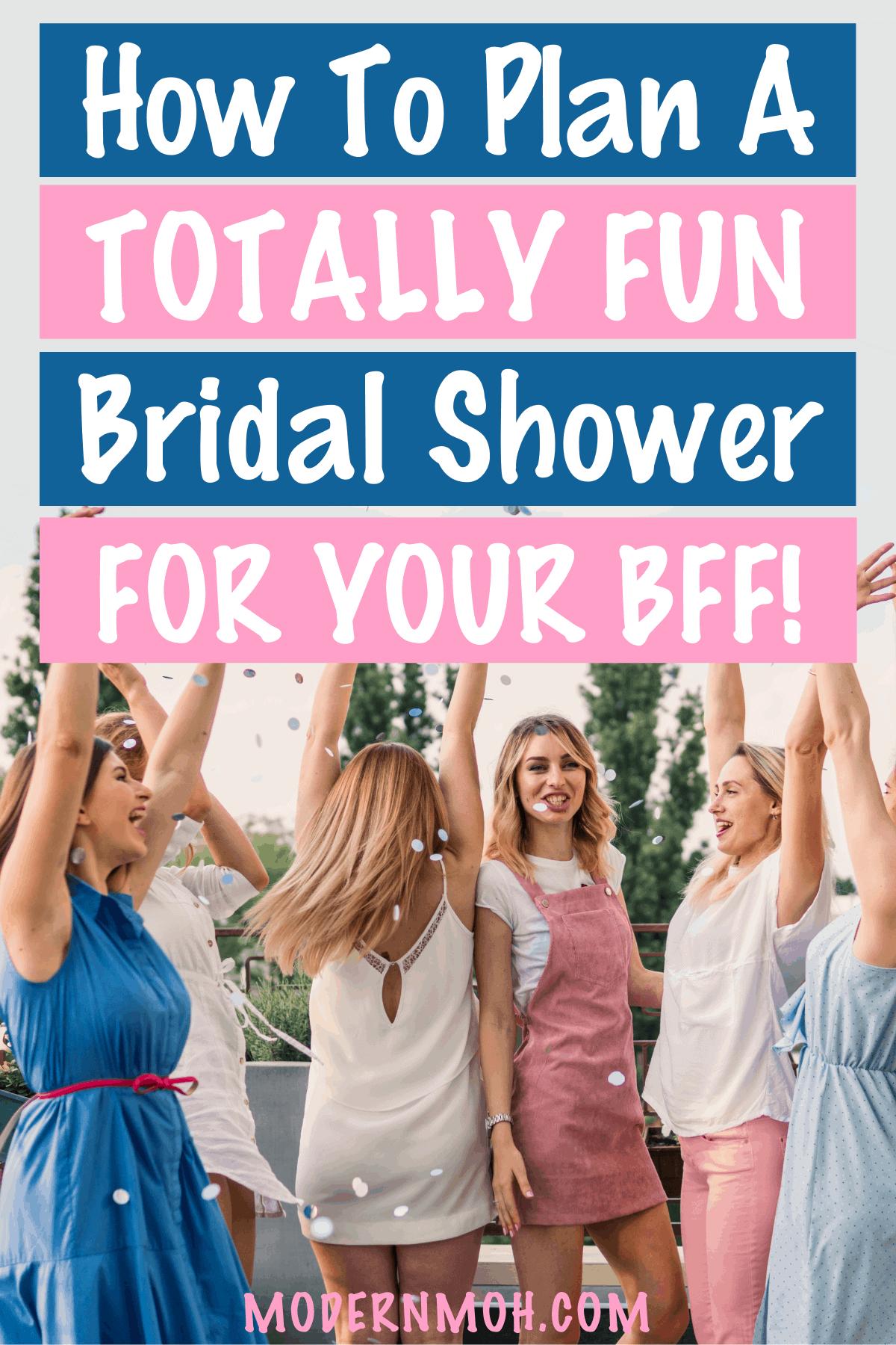 Bridal Shower Planning Checklist and Etiquette Tips