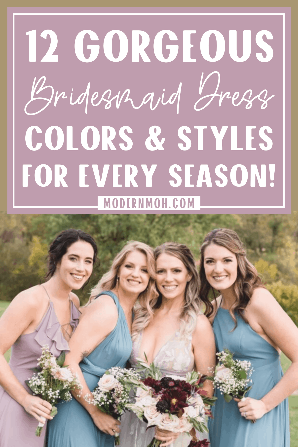 The Best Bridesmaid Dresses for Every Season
