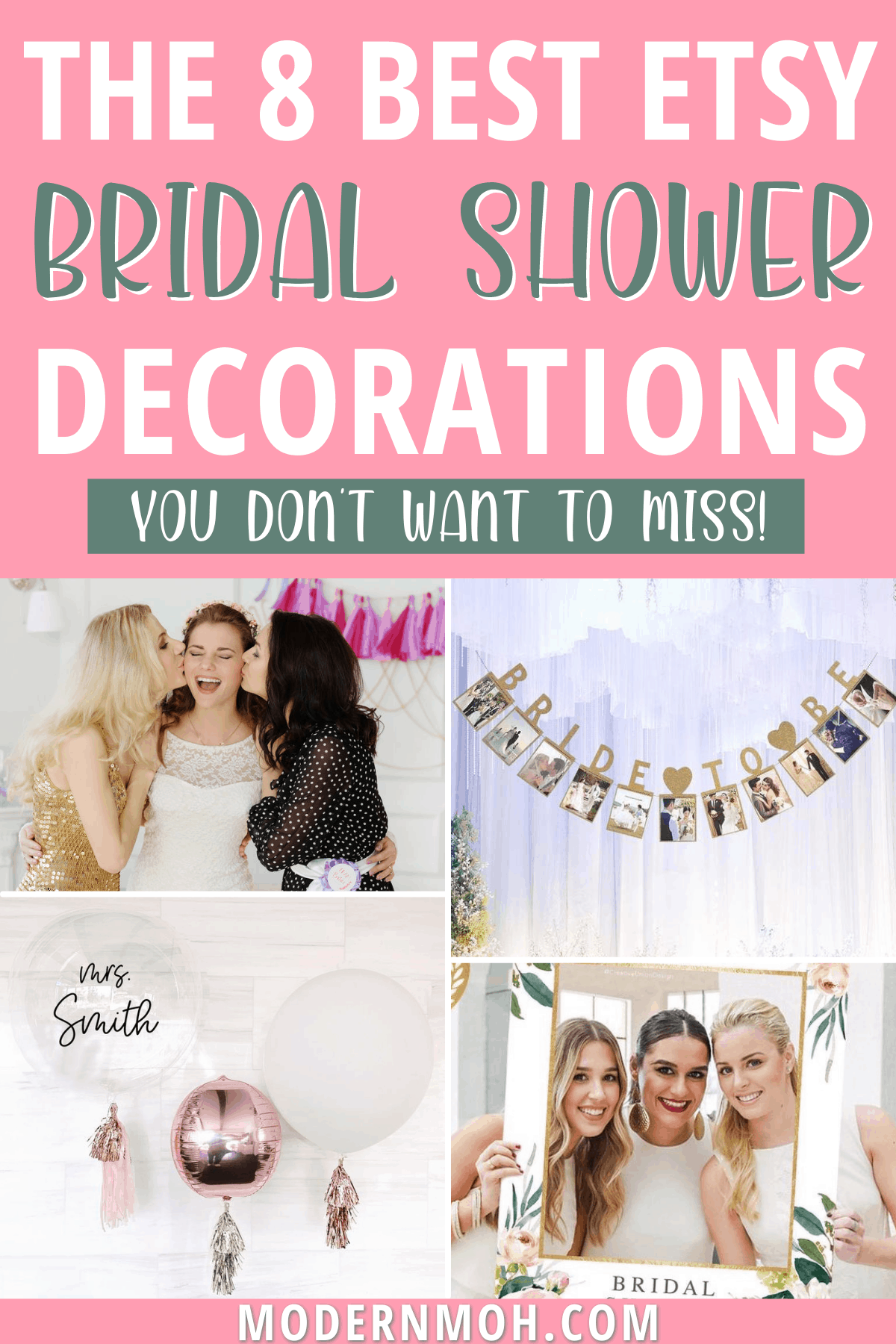 8 Etsy bridal shower decorations you won't want to miss