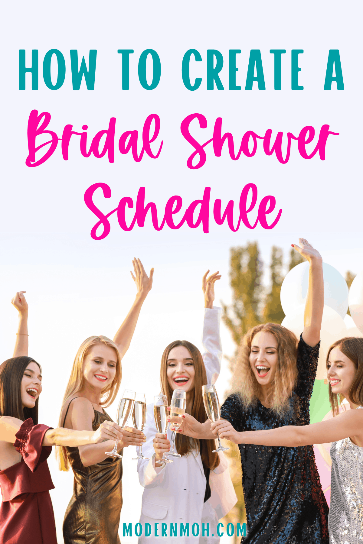 Bridal Shower Schedule + Order of Events