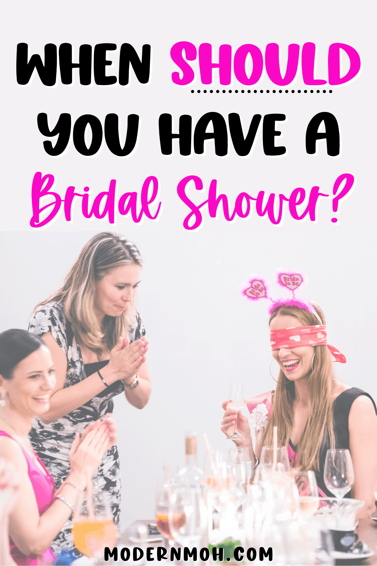 When Do You Have a Bridal Shower?
