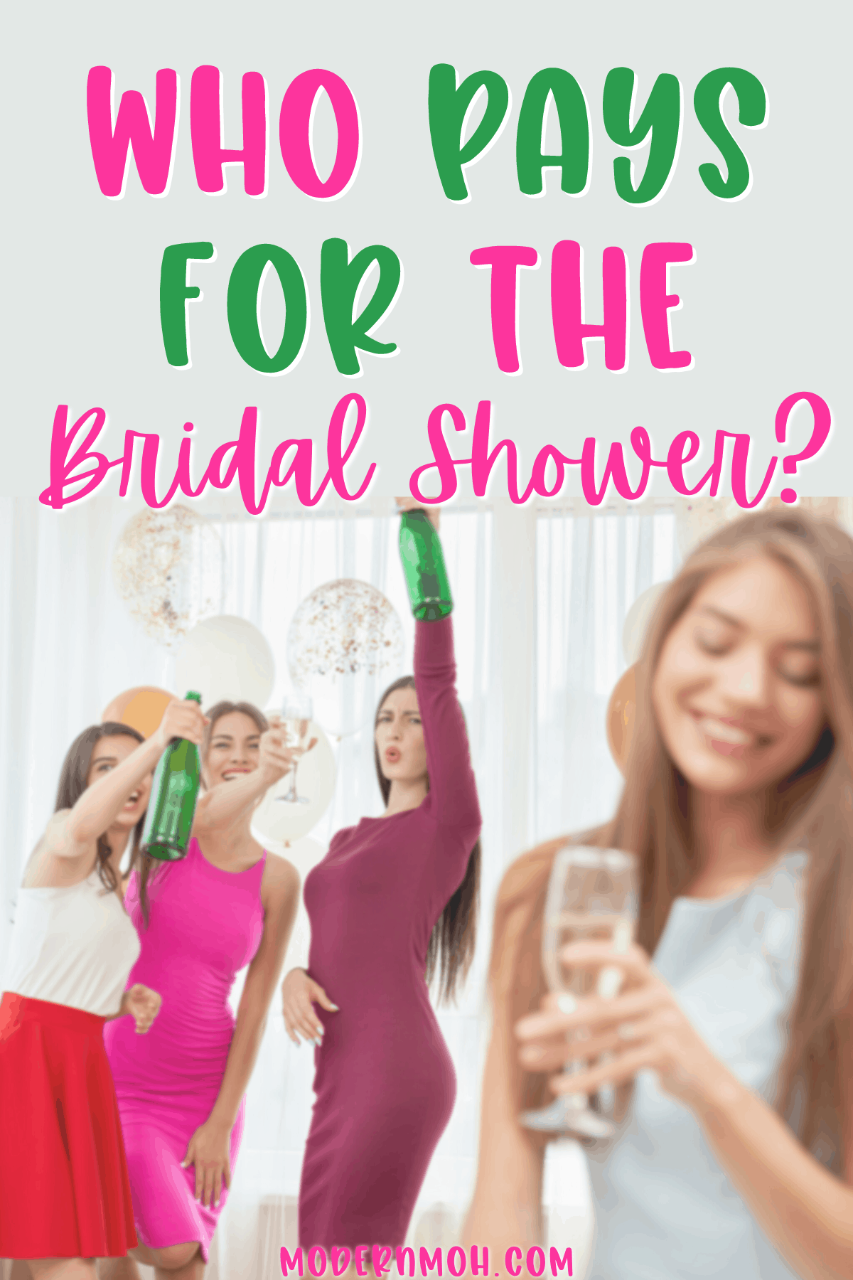 Who Pays for the Bridal Shower?