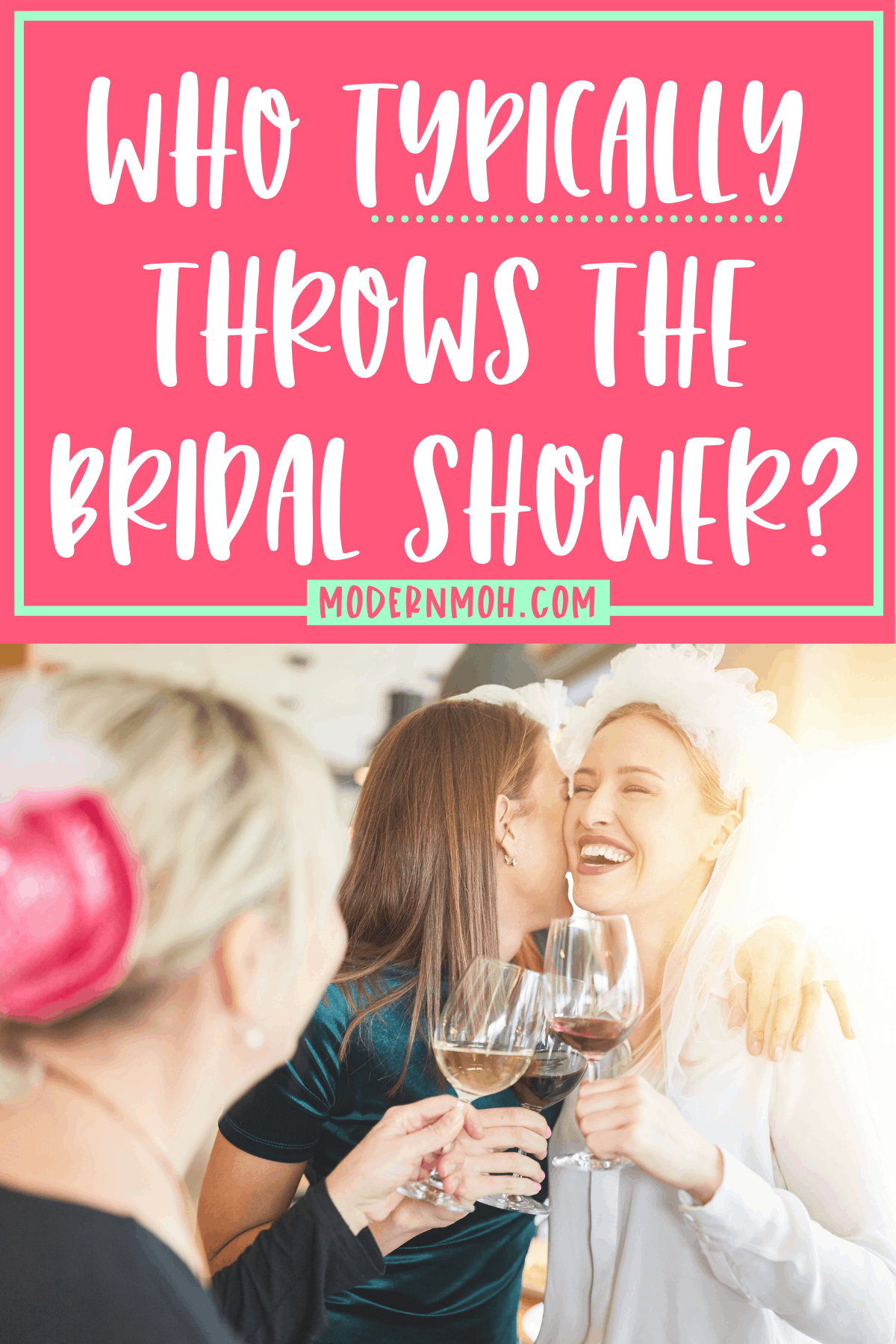 Who Throws the Bridal Shower?