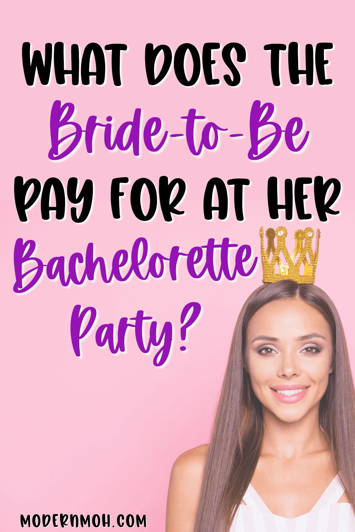 Who Pays for the Bachelorette Party?